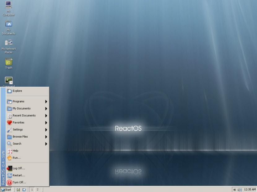 ReactOS, el clon libre de Windows